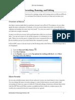 22 Macros in Excel