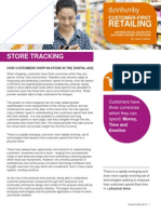 Customer First Retailing Store Tracking