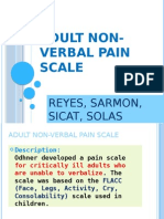 Adult Non Verbal Pain Scale Updated