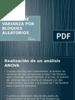 Analisis de Varianza Por Bloques Aleatorios