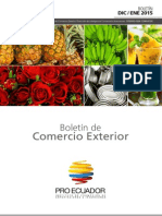 boletines comerciales ecuatoriano