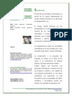 Terapia Ocupacional en Discapacidad Intelectual (María Laura Gómez)