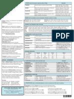 EnglishGrammar Cheat Sheet for Teachers