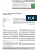 Are land reforms granting complete property rights politically risky? Electoral outcomes of Mexico's certification program