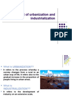 Impact of Industrialisation, Urbanization and Agricultural Revolution