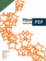 Houdini Nodes Quickref