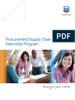 Procurement Supply Chain Flyer-Chevron