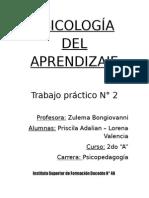 TP PSICOLOGÍA DEL APRENDIZAJE.doc