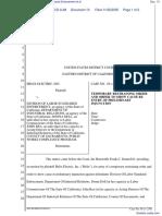 Helix Electric, Inc. v. Division of Labor Standards Enforcement et al - Document No. 13