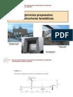 Ejercicios Propuestos Estructuras Isaostaticas