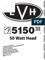 Evh 5150-III 50w Head Rev-c