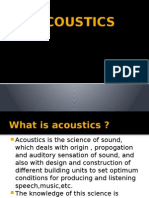 Acoustics (Design)