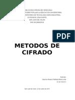 Metodos de Cifrados