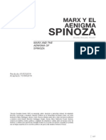 Marx y Spinoza