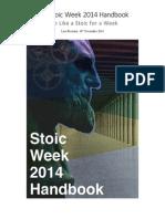 Stoic Week 2014 Handbook