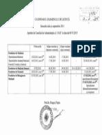 Calendarul Examenului de Licență Iulie Sept. 2015