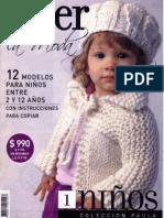 Tejer La Moda - 01 - Niños.pdf