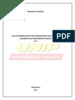 UNIP - Manual de Normalizacao Abnt