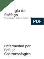 Patología Benigna del Esófago