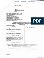 Gordon v. Impulse Marketing Group Inc - Document No. 214