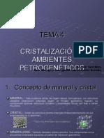 Cristalografía (1º Bachillerato Biología)