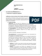 trabajo de Derecho Mercantil y Societario