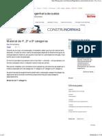 Material de 1ª 2ª e 3ª Categorias _ Blogs Pini