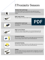 Types of Proximity Sensors