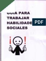 Guia Para Trabajar Habilidades Sociales