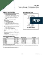 Datasheet DS1302