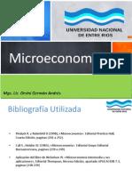Microeconomia Unidad 2 y 3 Orsini FCECO UNER