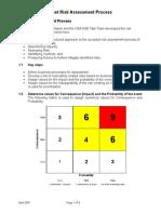 4 Fleet Risk Assessment Process
