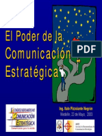 Comunicacion Estrategica Presentacion Pizzolante