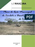 Plano de Ação Municipal de Combate à Desertificação Irauçuba 2009