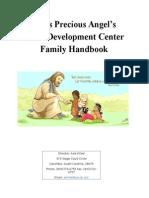 edu 262 family handbook