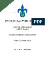 Manual de Practicas Bioquimica Clinica Especializada
