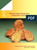 Mercado Internacional Duraznos Deshidratados