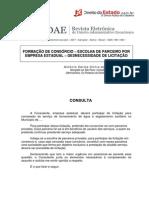 Amaral_Unknown_Formação de Consórcio - Escolha de Parceiro Por Empresa Estadual - Desnecessidade de Licitação_Unknown