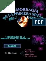 Hemorragia de La Primera Mitad Del Embarazo