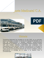 Presentación Transporte Medicatel