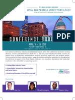 Ell Conference Brochure