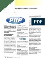 Developpement Et Deploiement d Un Site Php Avec Webdev