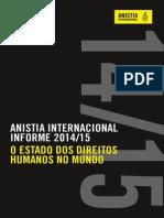 O Estado Dos Direitos Humanos No Mundo Anistia
