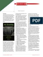 Jet Grouting Newsletter