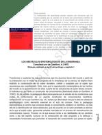 Camilloni-Los Obstáculos Epistemològicos en La Enseñanza