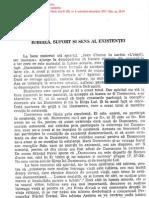 Florea, Arhiereu Dr. Petroniu - Iubirea, Suport Si Sens Al Existentei [RT, 4, 2001] 2