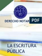 La Escritura Pública