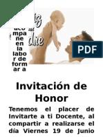 Papa Invitacion