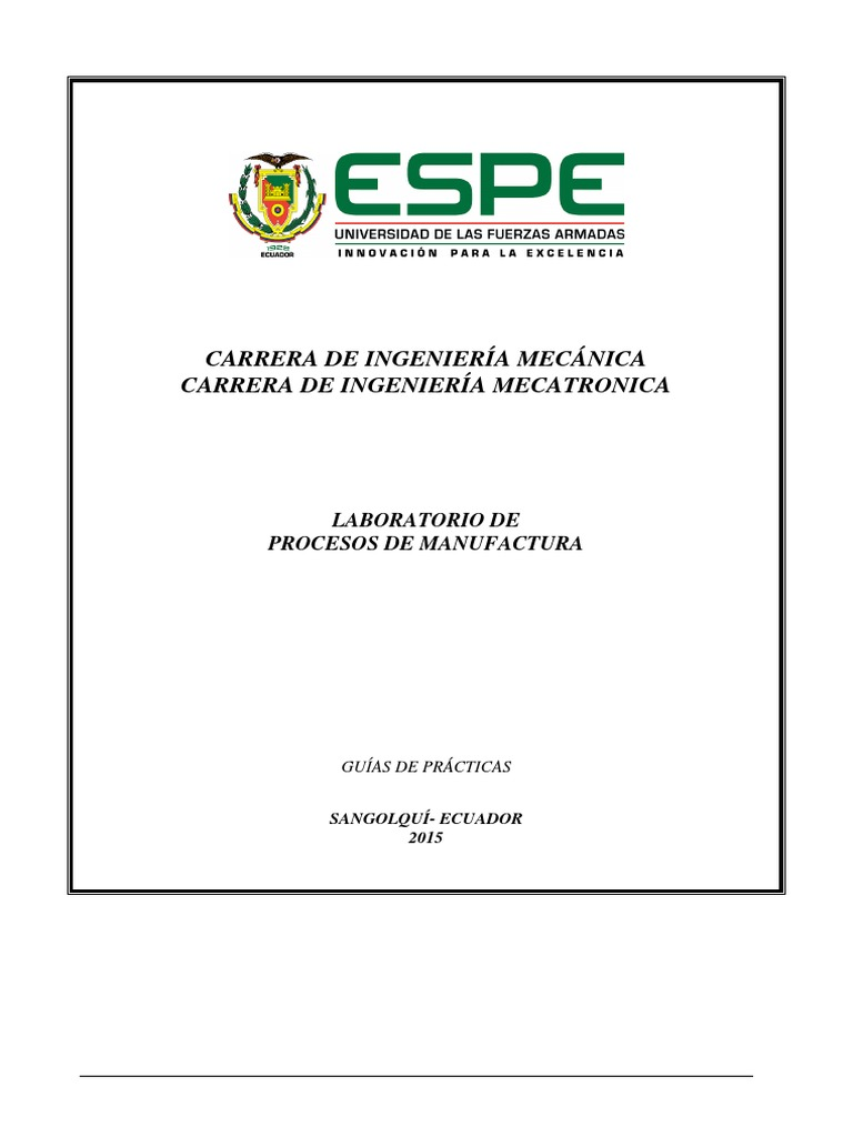 Guias de Practicas Procesos de Manufactura i 2015(1)