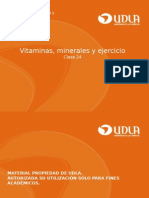 24. Vitaminas Minerales y Ejercicio